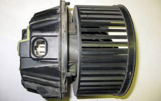 Замена моторчика печки рено логан