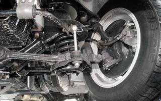Ремонт передней подвески газ 31105