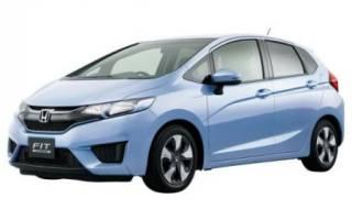 Хонда фит расход топлива