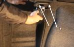 Как снять задний бампер на шкода октавия