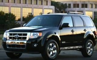 Форд эскейп расход топлива