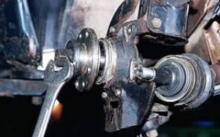 Ваз 2110 замена подшипника передней ступицы